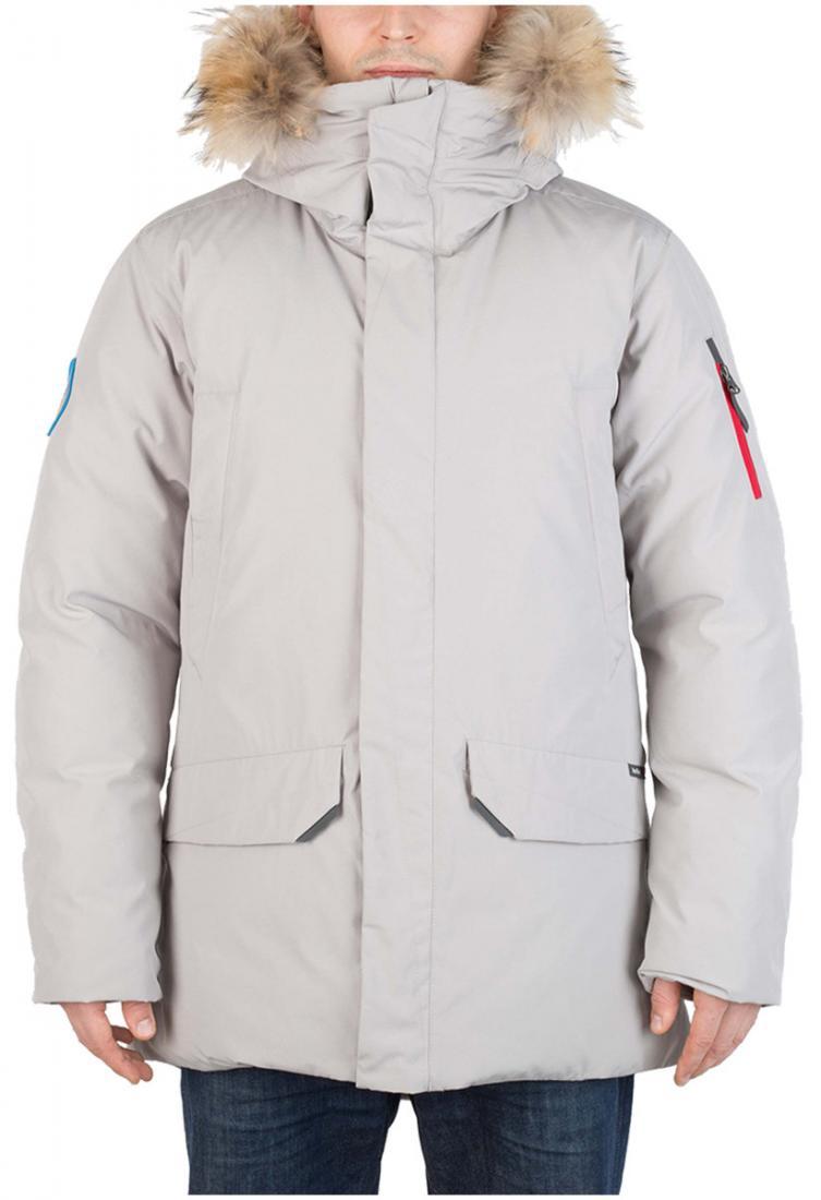 Куртка пуховая ForesterКуртки<br><br> Пуховая куртка, рассчитанная на использование вусловиях очень низких температур. Обладает всемихарактеристиками, необходимыми для ...<br><br>Цвет: Серый<br>Размер: 56