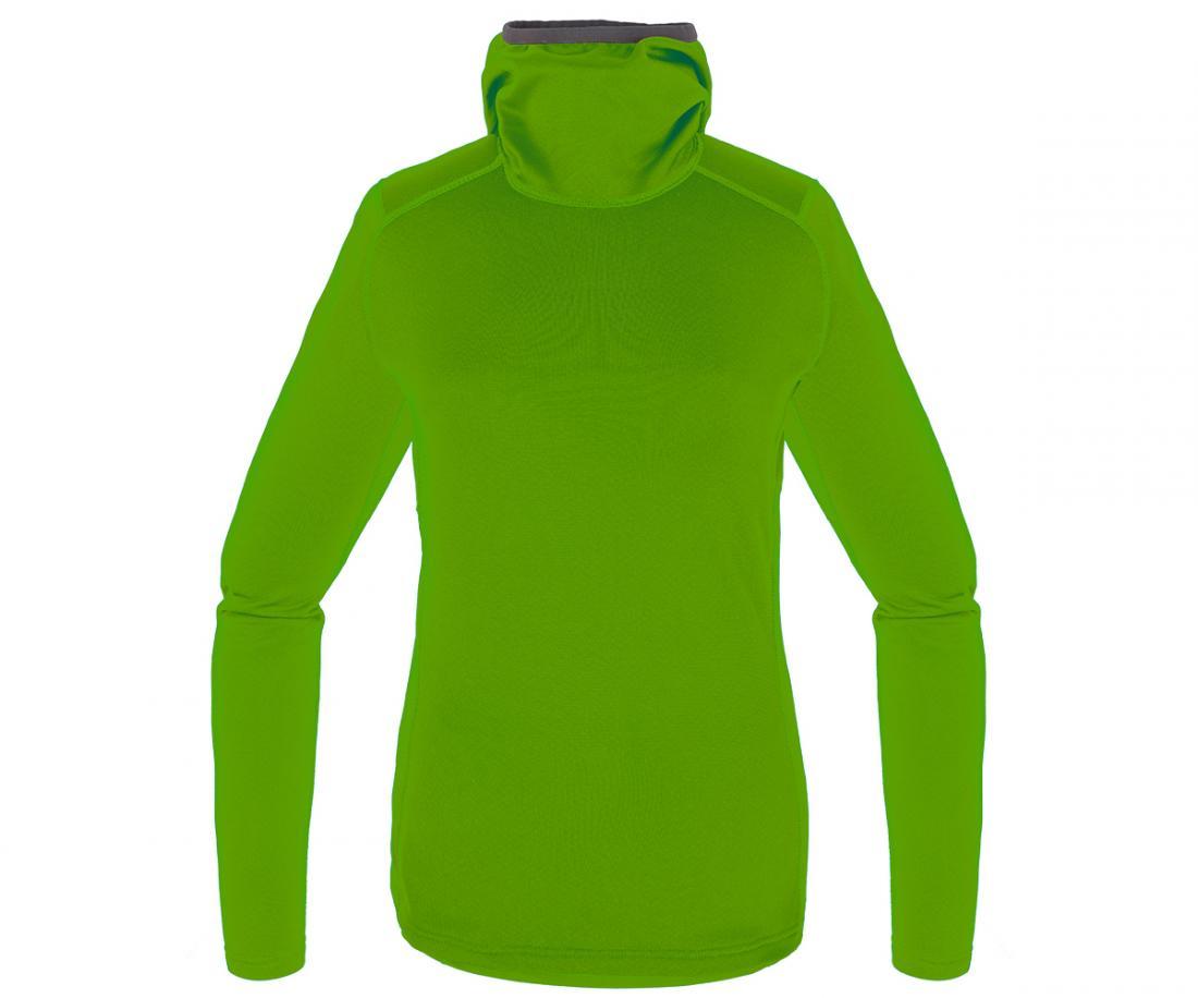 Пуловер Z-Dry Hoody ЖенскийПуловеры<br><br> Спортивный пуловер, выполненный из эластичногоматериала с высокими влагоотводящими характеристиками. Идеален в качестве зимнего термобелья илисреднего утепляющего слоя.<br><br><br>основное назначение: альпинизм, горный туризм.<br>м...<br><br>Цвет: Зеленый<br>Размер: 48
