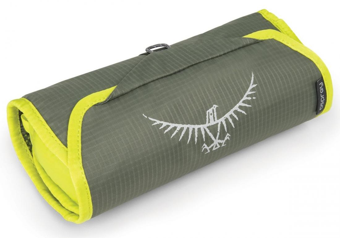 Фото - Косметичка Ultralight WashBag Roll от Osprey Косметичка Ultralight WashBag Roll (, Electric Lime, ,)