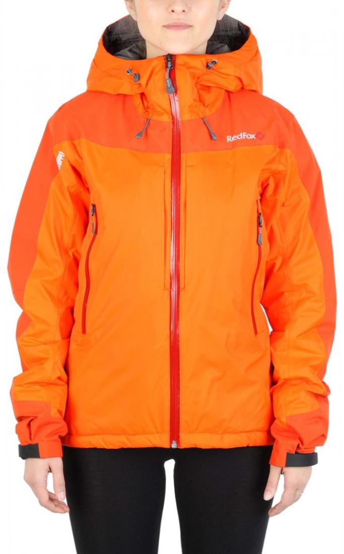 Куртка утепленная Wind Loft II ЖенскаяКуртки<br><br> Комбинация высокотехнологичного материала WINDSTOPPER® active Shell с утеплителем PrimaLoft® Gold Insulation, позволяет использовать куртку в очень холодны...<br><br>Цвет: Оранжевый<br>Размер: 42