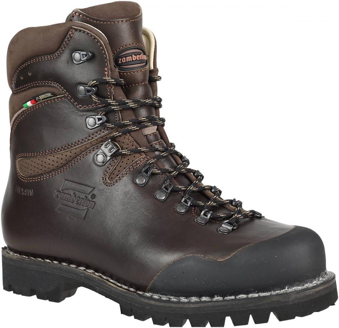 Ботинки 1029 SELLA HUNT GTXТреккинговые<br><br>Идеальные ботинки для многодневной охоты в горной местности. Прочная кожа в сочетании с мембраной GORE-TEX® обеспечивает идеальную посадку. Наружная вощеная кожа Tuscany 2,8 мм. Защитные резиновые накладки на носке. Надежное и комфортное высокое гол...<br><br>Цвет: Коричневый<br>Размер: 48