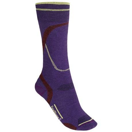 Носки лыжные женские 5538 STRATUSНоски<br><br>Высококачественное волокно PrimaLoft обладает особой мягкостью, отводит влагу и обеспечивает естественную термоизоляцию и комфорт<br>&lt;...<br><br>Цвет: Фиолетовый<br>Размер: L