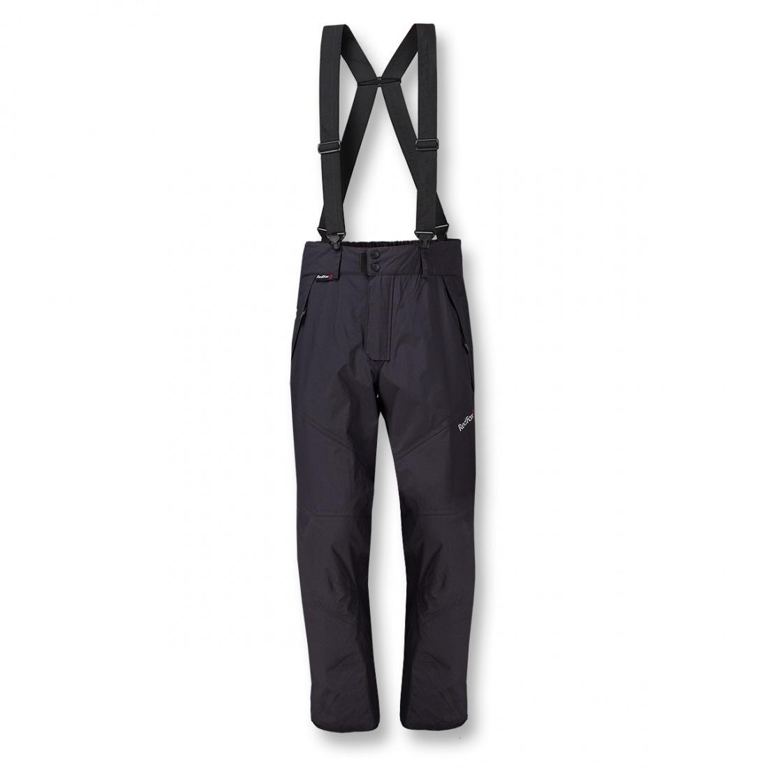 Брюки ветрозащитные Alpine 06Брюки, штаны<br><br><br>Цвет: Черный<br>Размер: 54