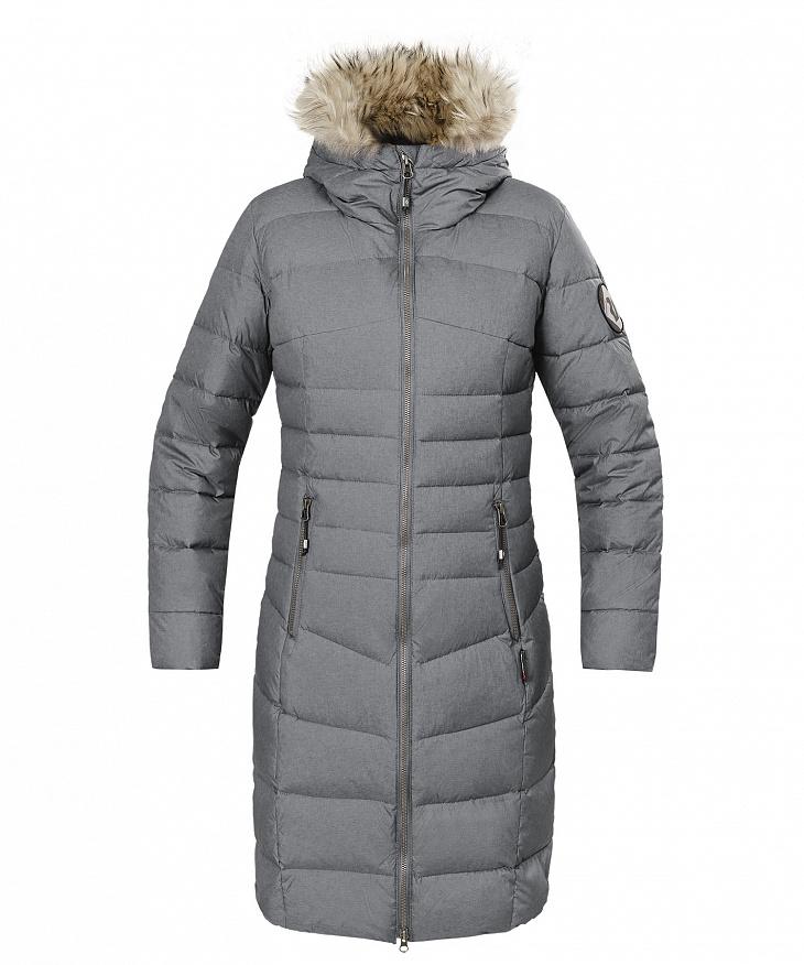Купить Пальто пуховое Ester II Женское (50, 4000/серый, , W 17-18) Red Fox