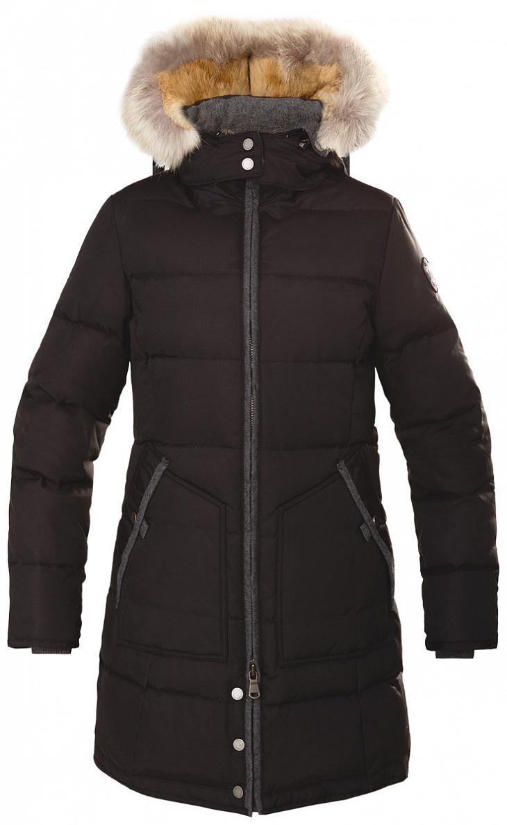 Купить Куртка пуховая женская CHLOE (M, Jet Black/Charcoal/CRISTAL FOX, , ,), PAJAR