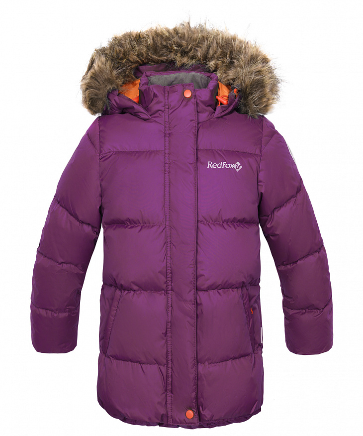 Купить Куртка пуховая Nikki III Детская (98, 0110/чернила/черный, , ,), Red Fox