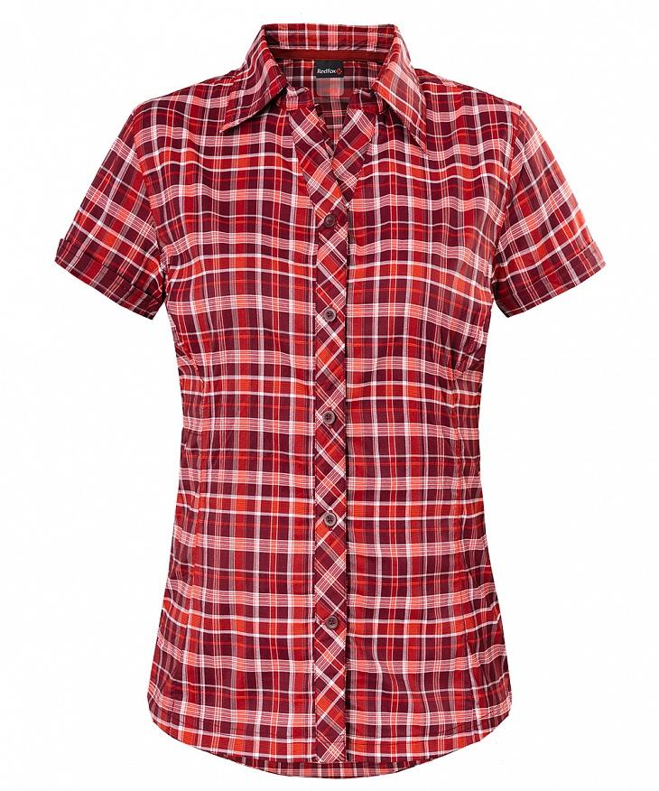 Купить Рубашка Vermont Женская (42, 1100/бордовый, , SS17), Red Fox