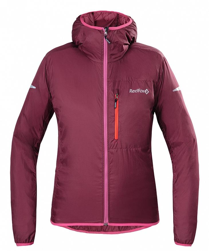 Купить Куртка Trek Super Light Женская (L, 0200/малиновый, , W 17-18) Red Fox