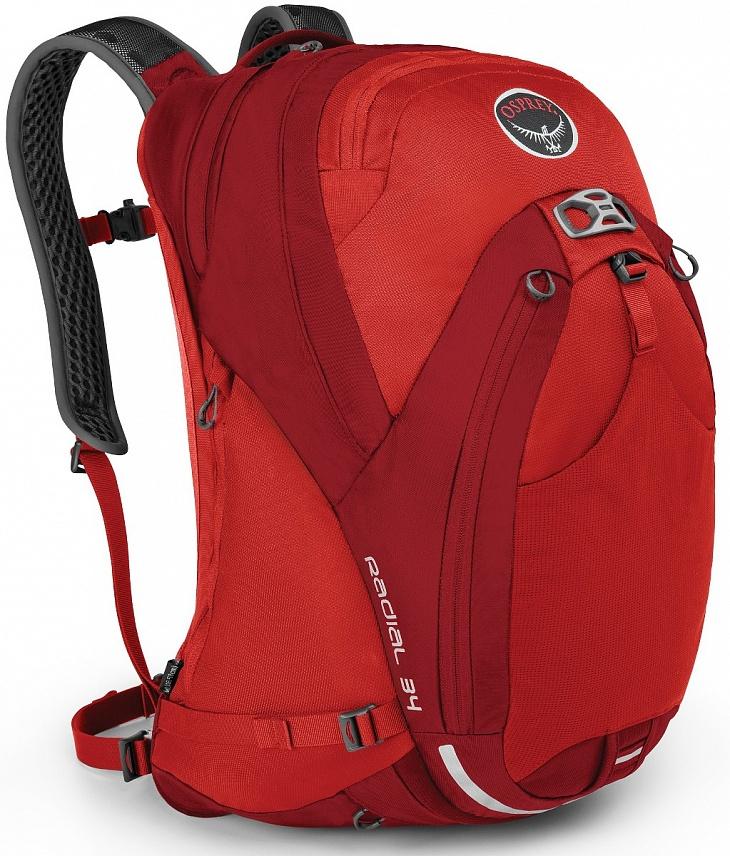 Купить Рюкзак Radial 34 (M-L, Lava Red, , ,) Osprey