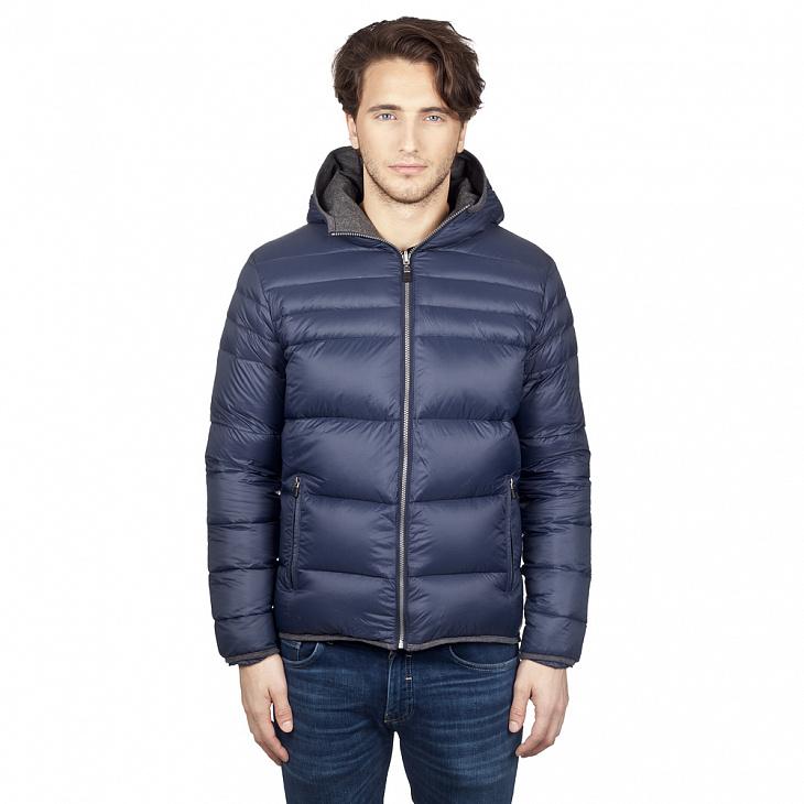 Купить Куртка пуховая мужская HUDSON (S, Navy/Charcoal, , ,), PAJAR