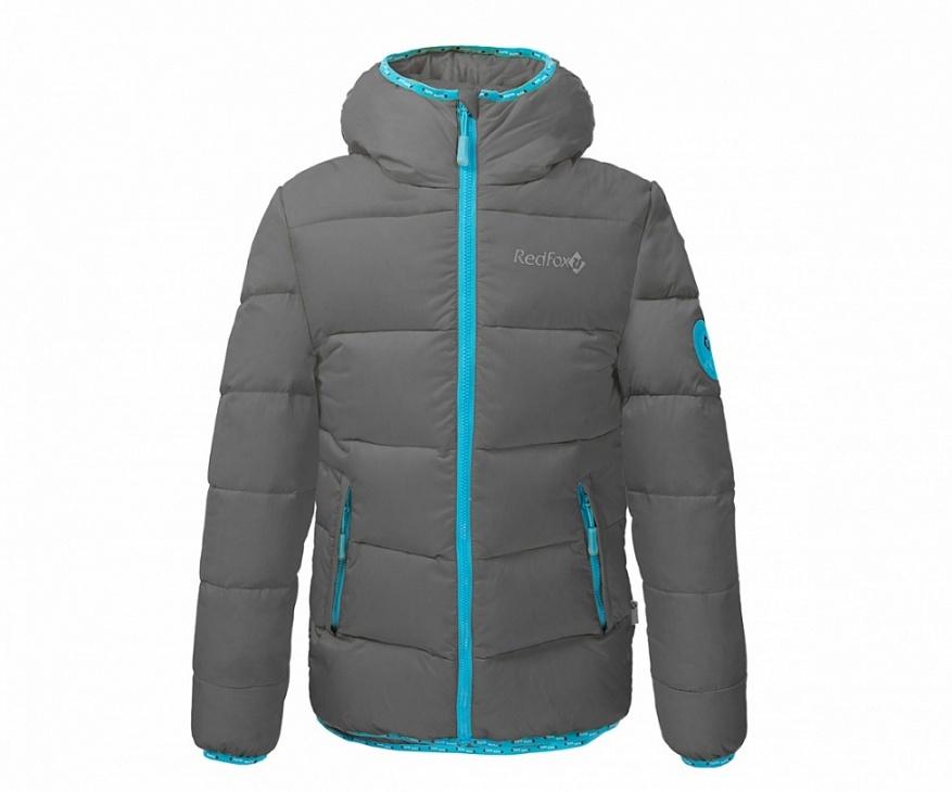 Купить Куртка пуховая Everest Micro Light Детская (128, 2000/асфальт, ,) Red Fox
