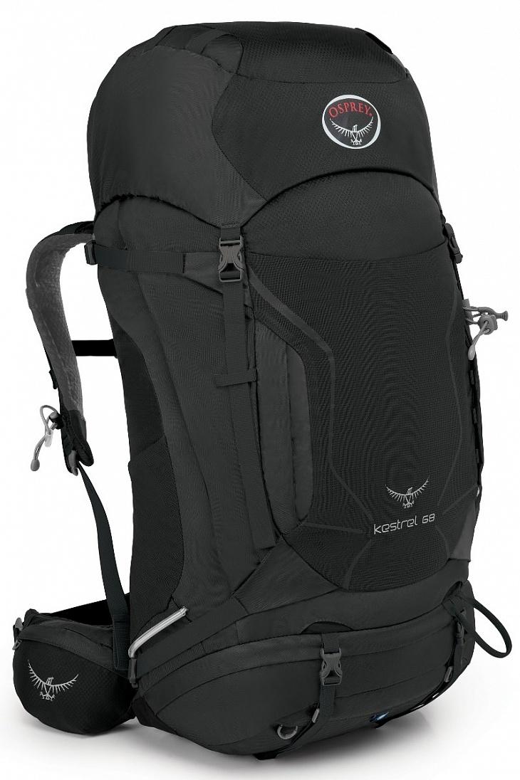 Купить Рюкзак Kestrel 68 (S-M, Ash Grey, ,) Osprey