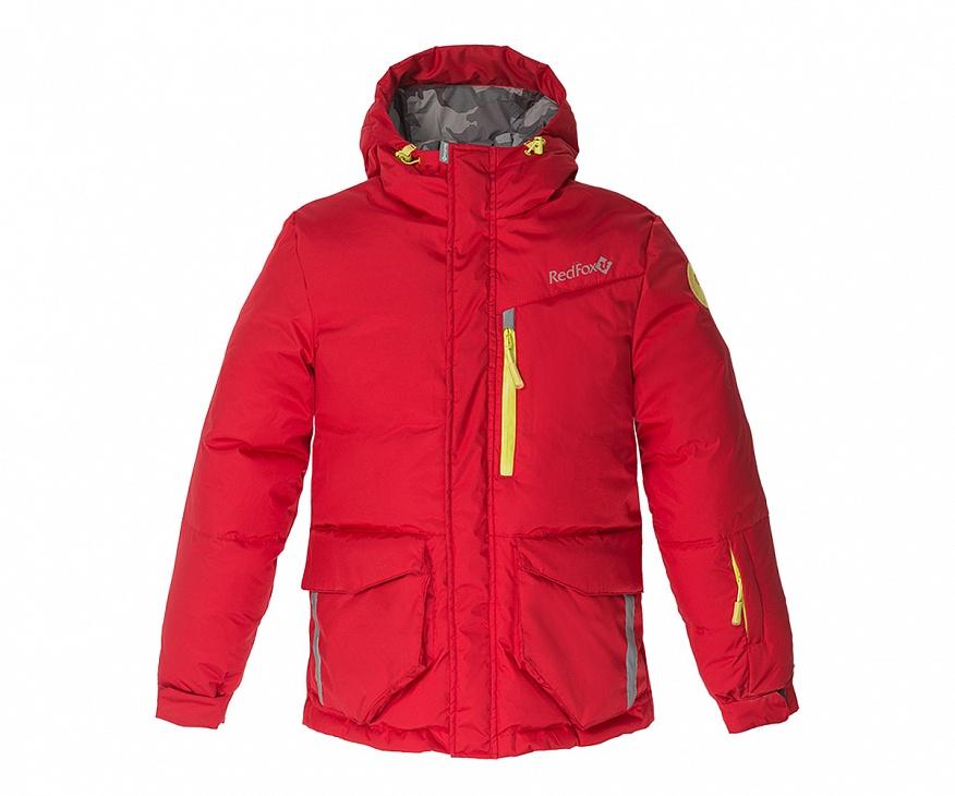 Купить Куртка пуховая Glacier Детская (140, 1200/т.красный, ,), Red Fox