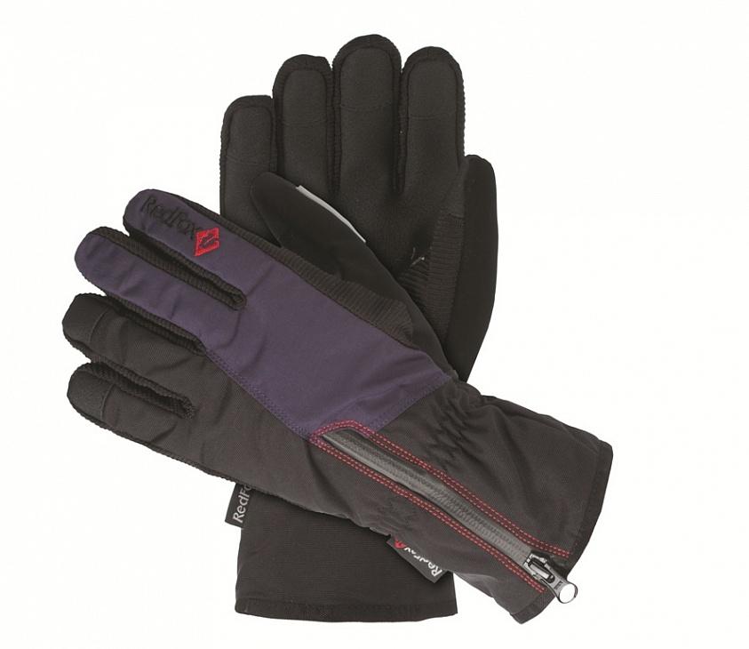 Купить Перчатки Ride II (XL, 1091/черный/т.синий, ,), Red Fox