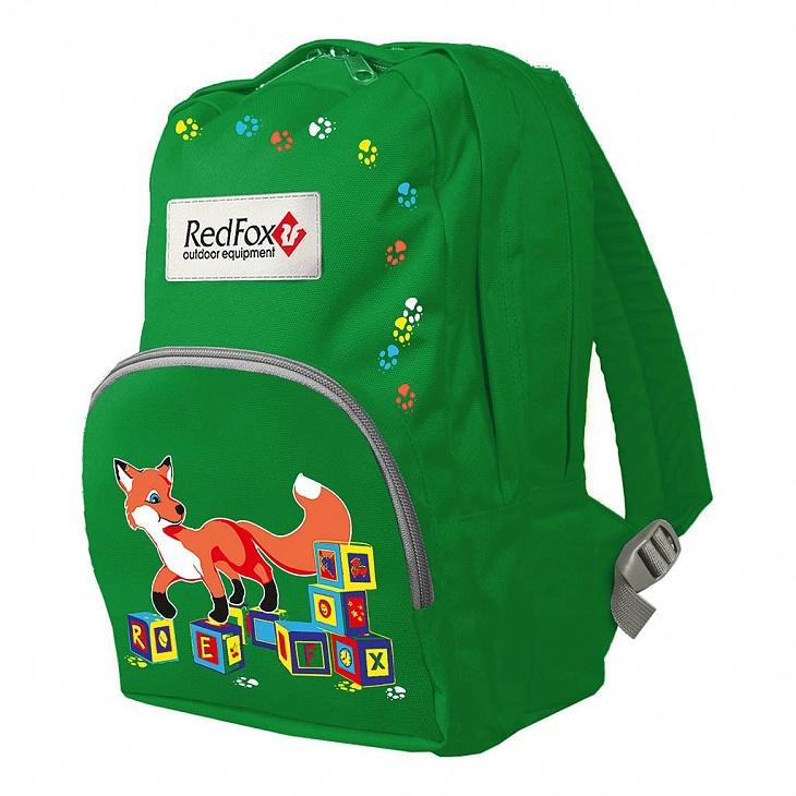Купить Рюкзак Kid Pack (, 6200/ярко-зеленый, ,), Red Fox