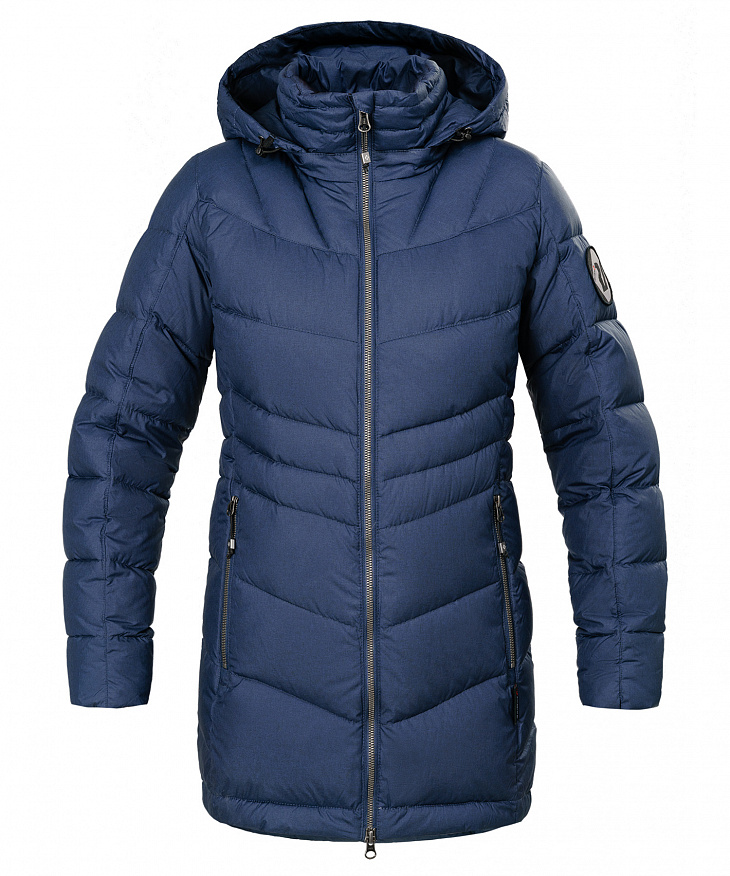 Купить Куртка пуховая Bergen Женская (M, 9900/черно-синий, , W 17-18) Red Fox