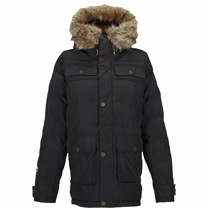 Купить Куртка г/л WB ESSEX PUFFY JK (S, TRUE BLACK, , FW15), Burton