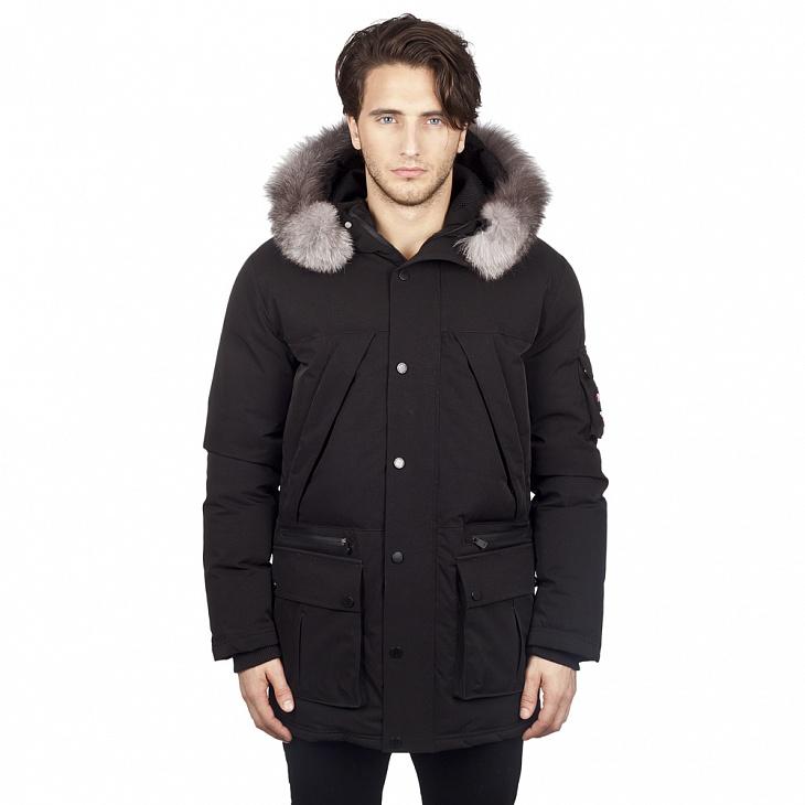Купить Куртка пуховая мужская BENNY (XL, Jet Black/CRISTAL FOX, , ,) PAJAR