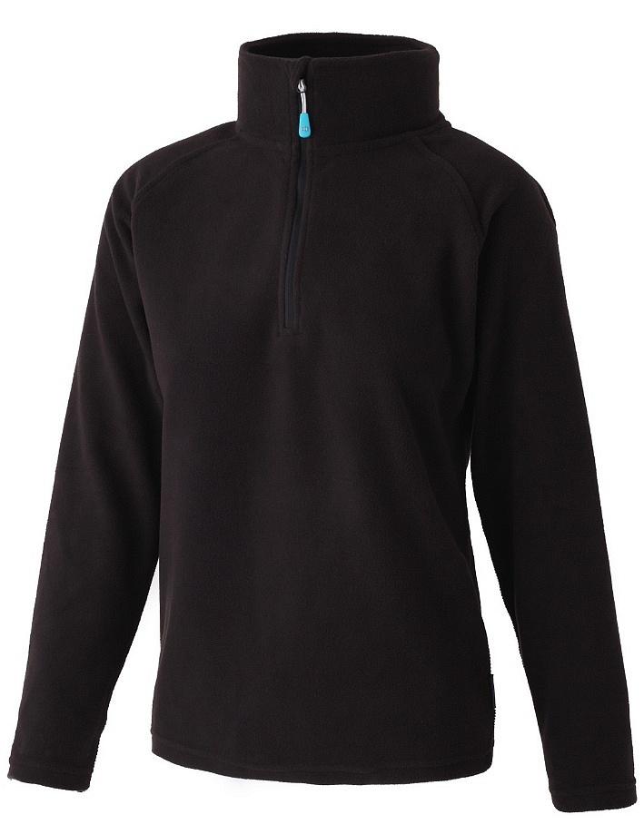 Купить Толстовка DILL (1/4 ZIP) жен. (XS, 020 Black, , ,), Surfanic