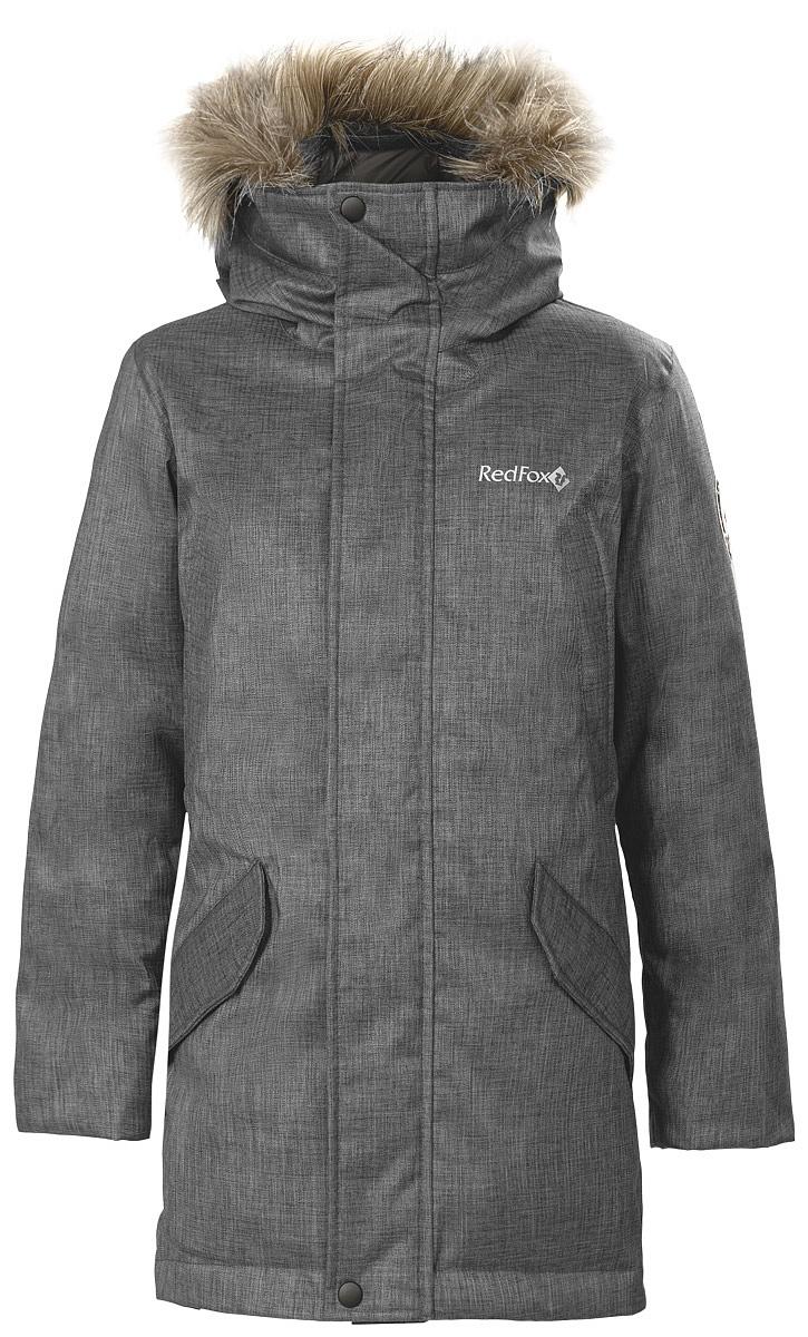 Купить Куртка пуховая Nanook Kids (146, 2000/асфальт, ,), Red Fox