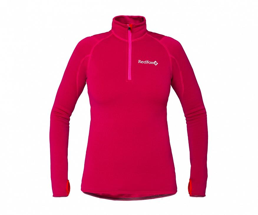 Купить Термобелье пуловер Penguin Power Stretch III Женский (42, 0400/indian pink, , SS17) Red Fox