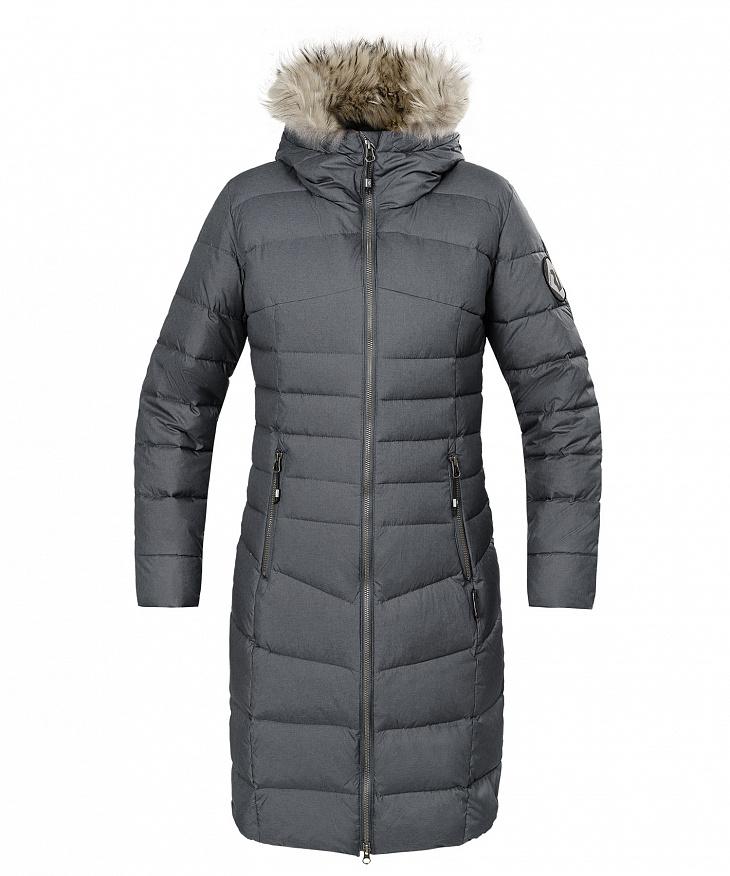 Купить Пальто пуховое Ester II Женское (42, 2000/асфальт, , W 17-18), Red Fox