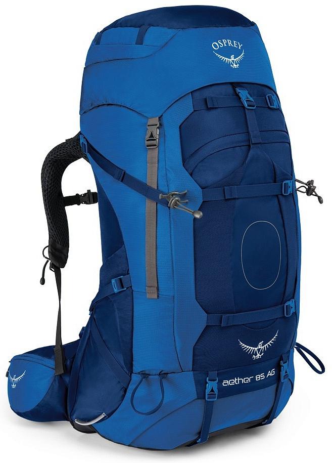 Купить Рюкзак Aether AG 85 (L, Neptune Blue, , ,), Osprey