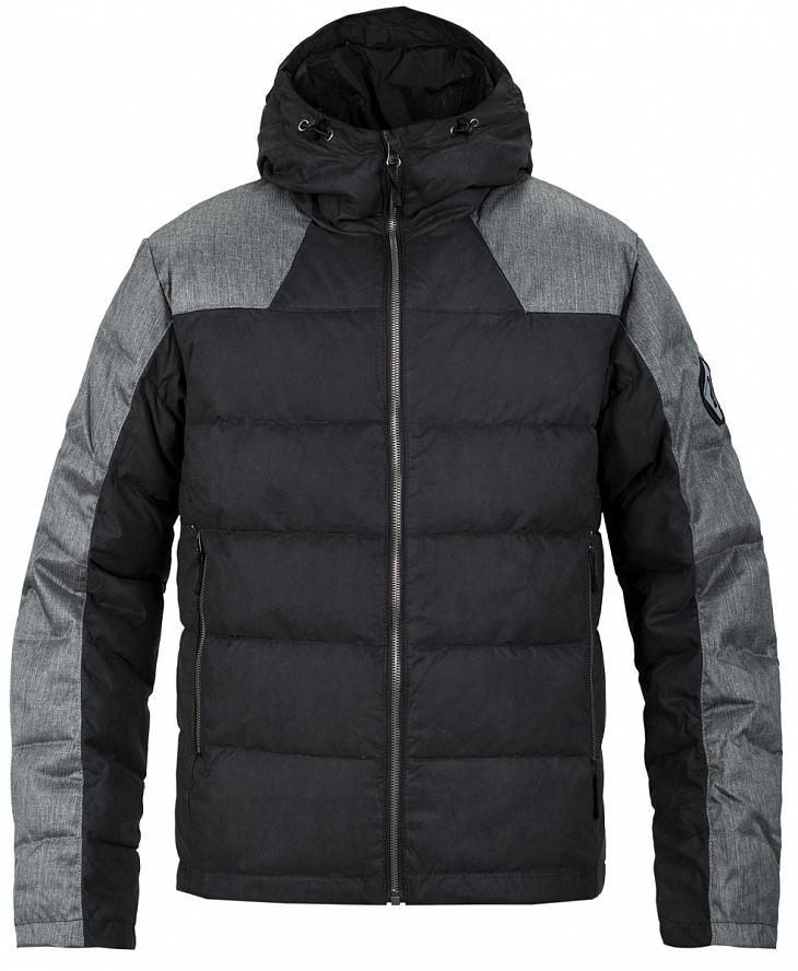 Купить Куртка пуховая Nansen Мужская (46, 1020/черный/асфальт, ,), Red Fox