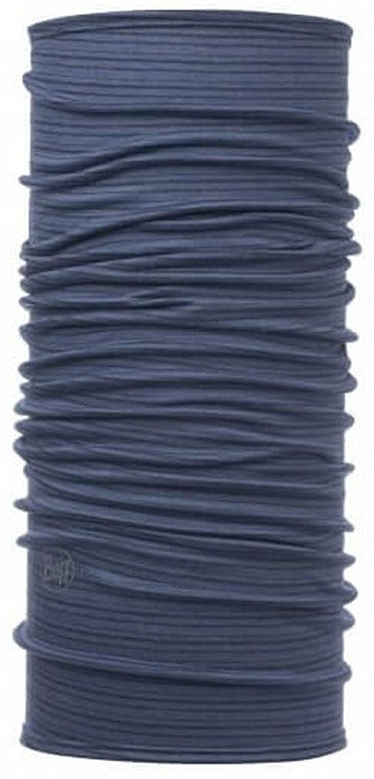 Купить Бандана BUFF LIGHTWEIGHT MERINO WOOL (One Size, DENIM STRIPES, , ,), Buff