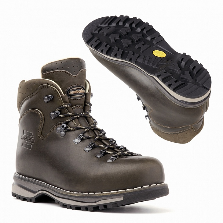 Купить Ботинки 1023 LATEMAR NW (40, Waxed Dk Brown, ,), Zamberlan