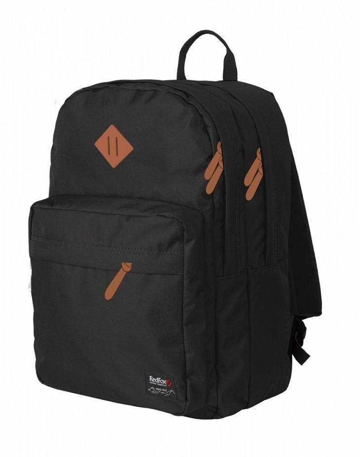Купить Рюкзак Bookbag L1 Детский (, 10LV/чёрный/кожа, , SS17), Red Fox