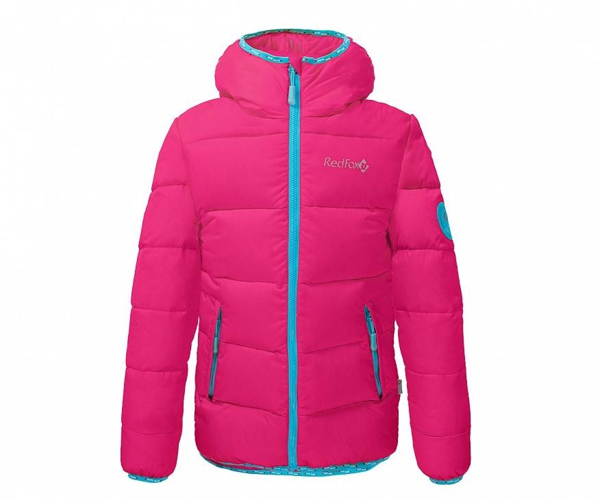 Купить Куртка пуховая Everest Micro Light Детская (134, 0400/indian pink, ,), Red Fox