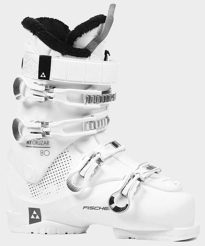 Купить Ботинки г/л MY CRUZAR 80 PBV (24.5, White/White/White, , ,), Fischer