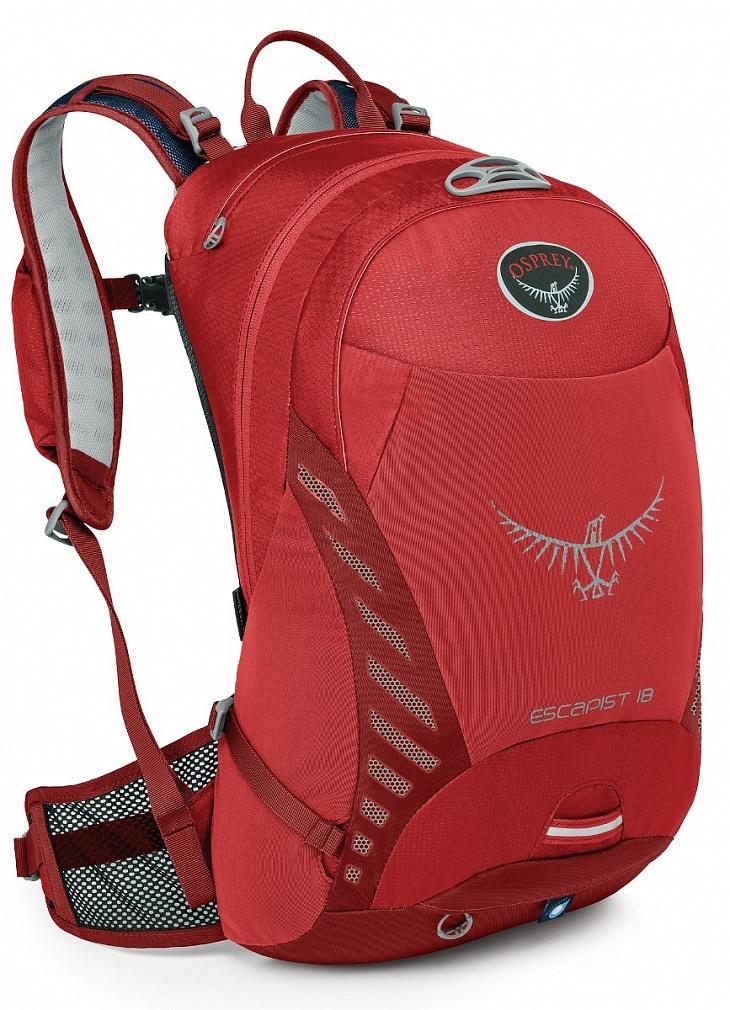Купить Рюкзак Escapist 18 (S-M, Cayenne Red, , ,) Osprey