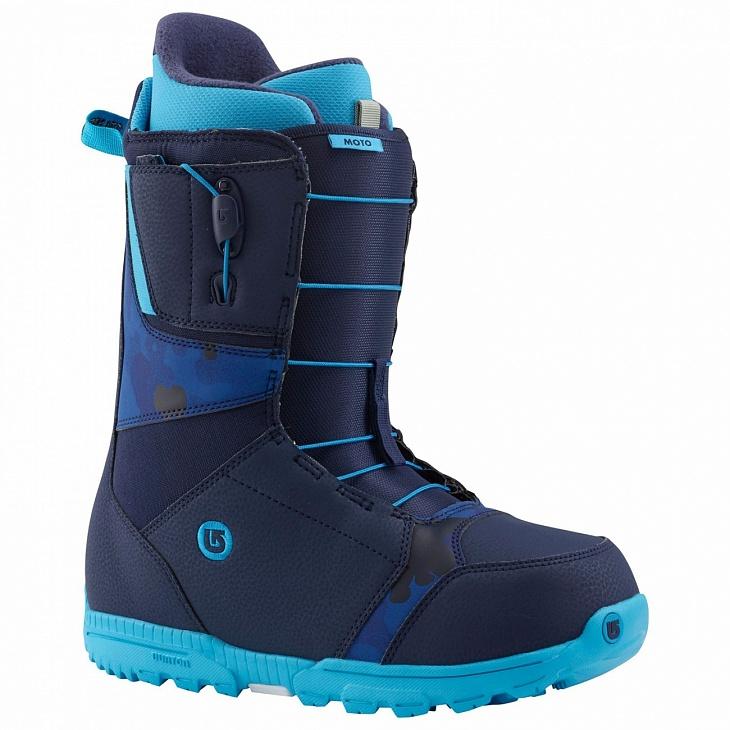 Купить Ботинки сноуб. MOTO (9, Blue, , WIN14) Burton