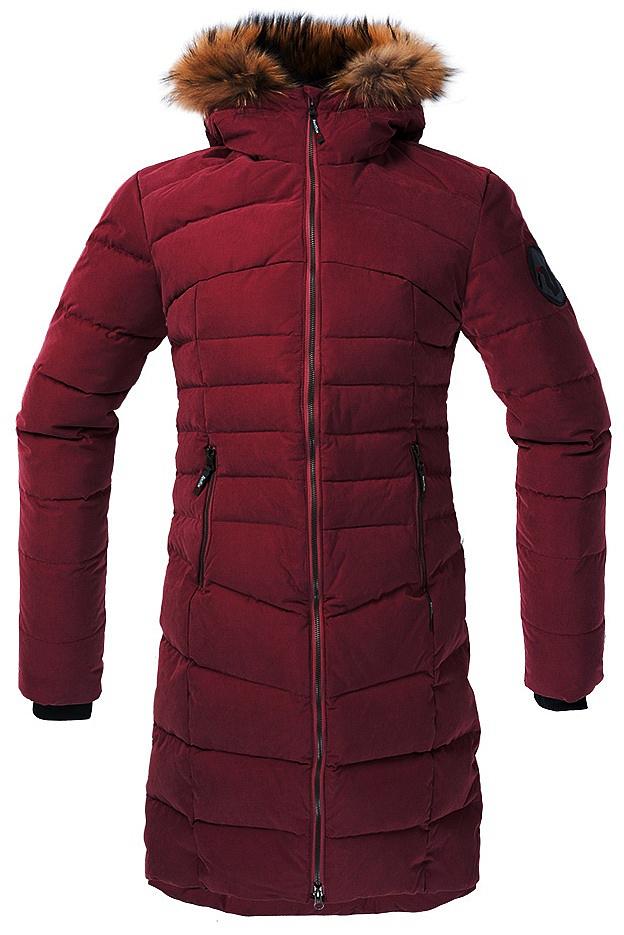 Купить Пальто пуховое Ester Женское (44, 0200/малиновый, ,) Red Fox