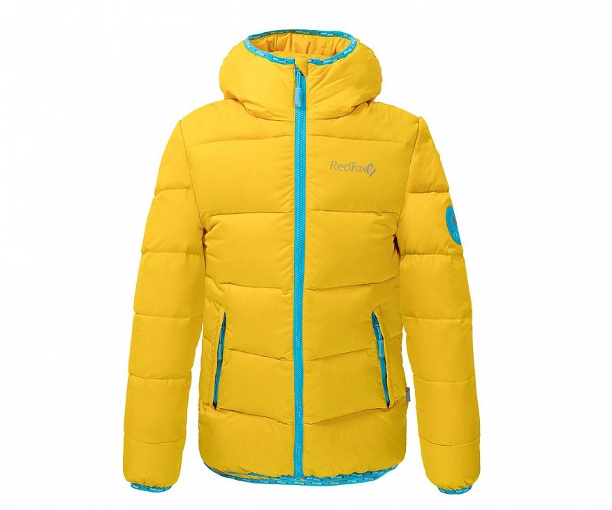 Купить Куртка пуховая Everest Micro Light Детская (128, 4400/янтарь, ,) Red Fox