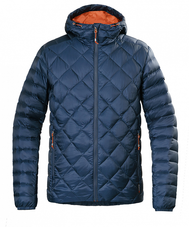 Купить Куртка пуховая Michigan Мужская (XL, 9900/черно-синий, , W 17-18) Red Fox