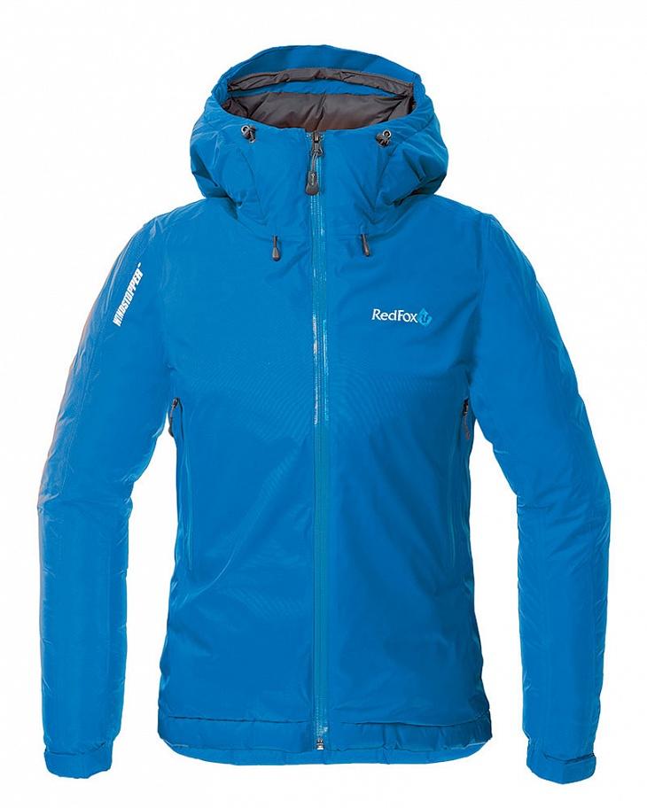 Купить Куртка пуховая Down Shell II Женская (48, 8500/голубой, ,) Red Fox