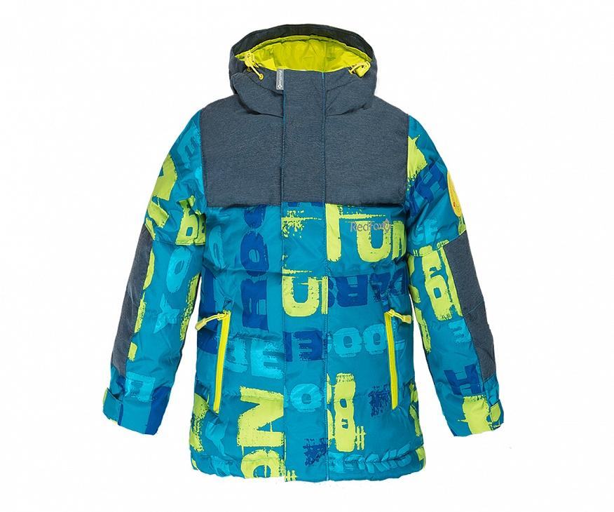Купить Куртка пуховая Climb Детская (92, BP99/принт/черно-синий, ,) Red Fox