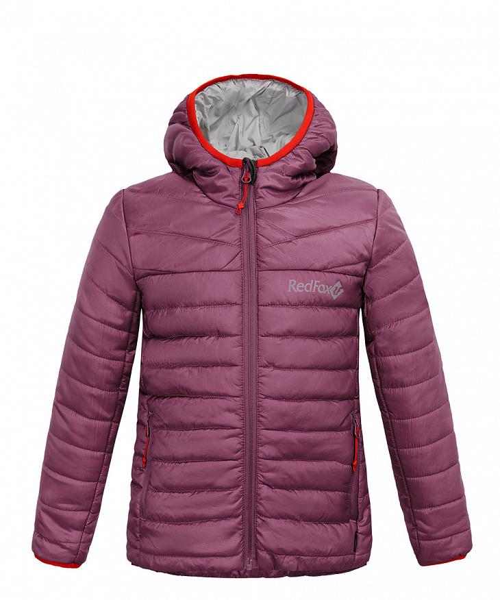 Купить Куртка утепленная Air II Детская (122, 0700/т.лиловый, , ,) Red Fox