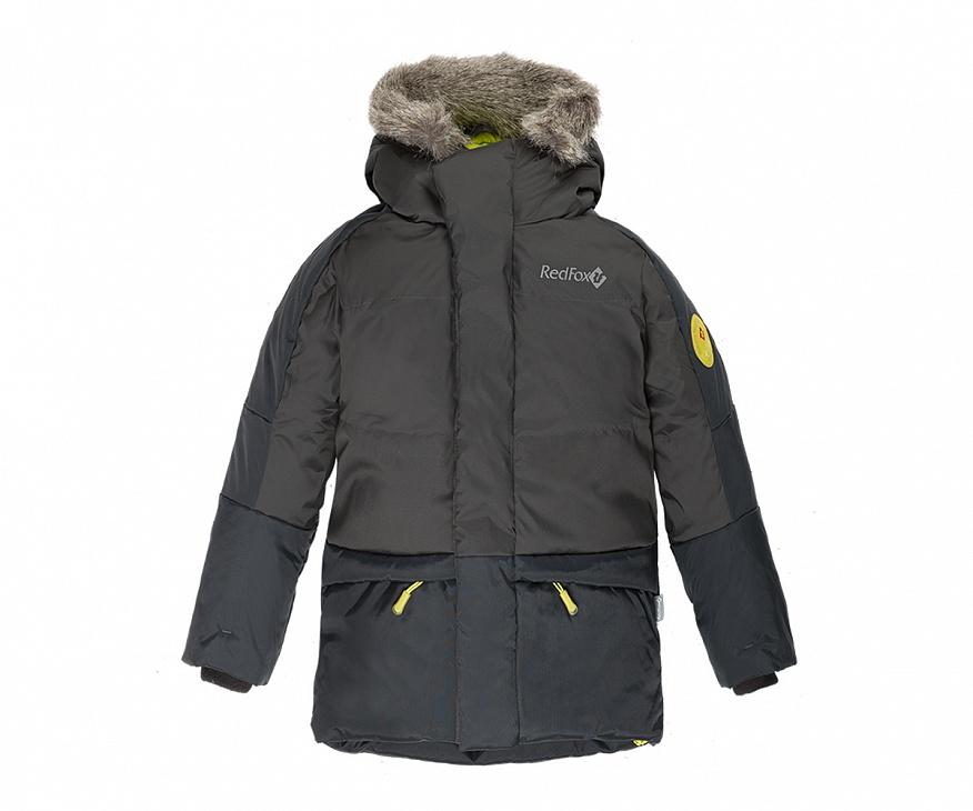 Купить Куртка пуховая Extract II Детская (146, 2000/асфальт, ,) Red Fox