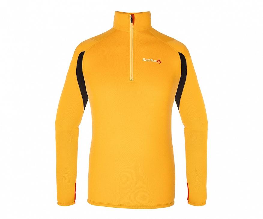 Купить Термобелье пуловер Penguin Power Stretch II Мужской (46, 4410/янтарь/черный, ,), Red Fox