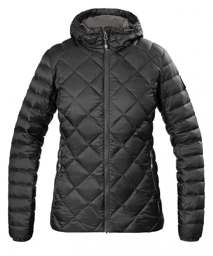 Купить Куртка пуховая Michigan Женская (L, 1000/черный, , W 17-18) Red Fox
