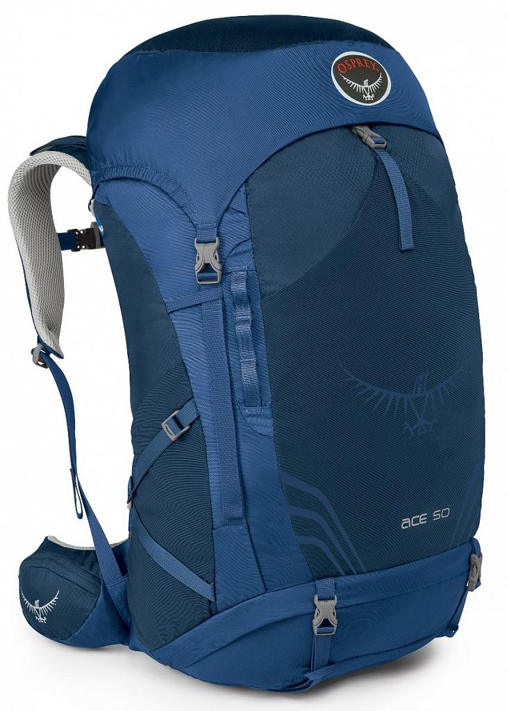 Купить Рюкзак Ace 50 (, Night Sky Blue, ,) Osprey