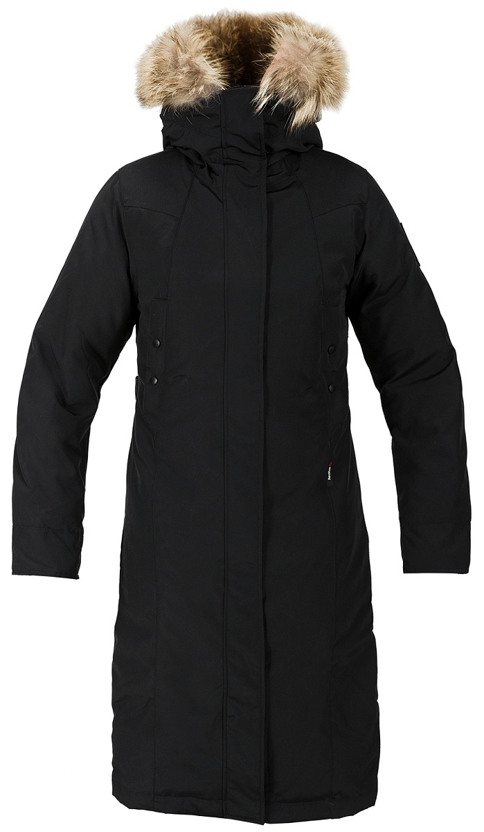 Купить Пальто пуховое Aurora Женское (XL, 1000/черный, , W 17-18) Red Fox