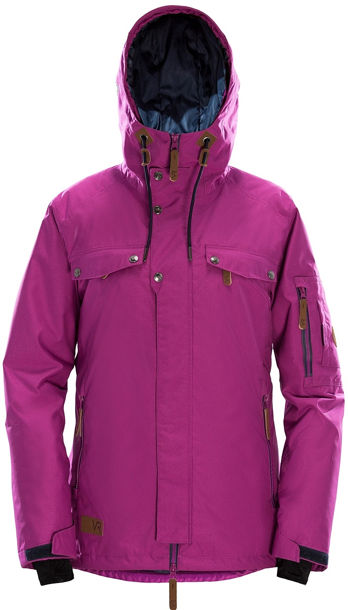 Купить Куртка утепленная GLORY W (XS, 0200/малиновый, ,) VR