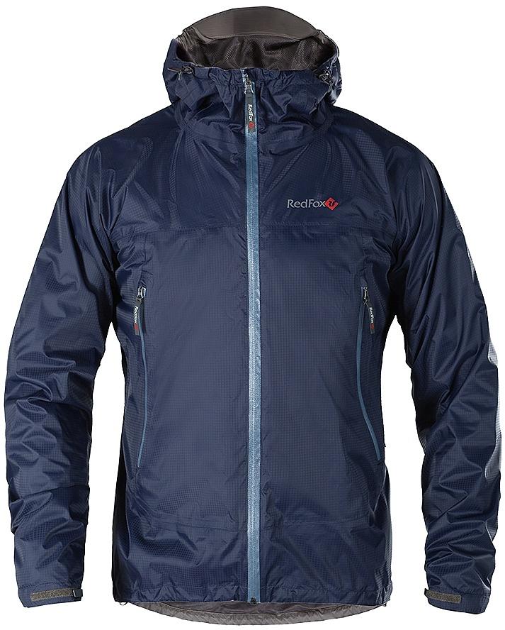 Купить Куртка ветрозащитная Long Trek Мужская (46, 8800/серо-синий, , SS17) Red Fox