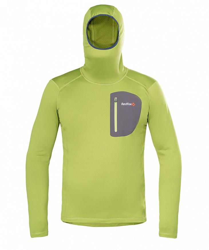 Купить Пуловер Z-Dry Hoody Мужской (46, 5320/травяной/асфальт, , SS17), Red Fox
