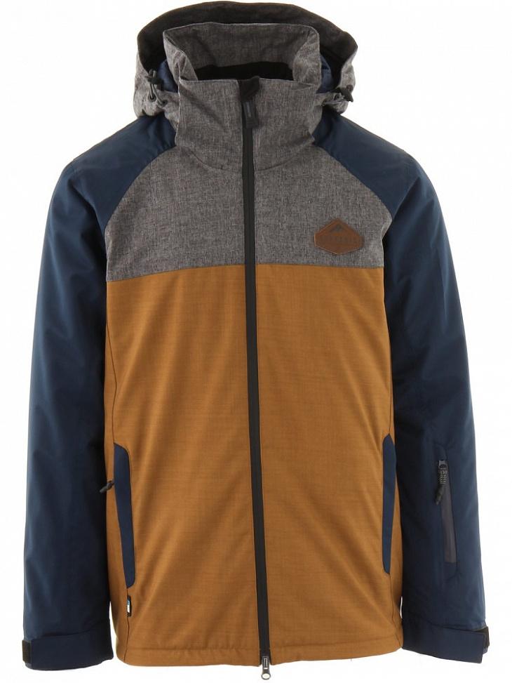 Купить Куртка мужская утепленная SWY1002 VIPER 10K (S, 390/DEEP GOLD, , ,), Surfanic